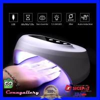 Alat Pengering Kutek Kuku Smart Portable UV LED Nail Dryer 36W - Putih thumbnail