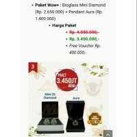 PRODUK ASLI - PAKET WOW+ #BIOMINI DIAMOND SHAPE+AURA# MCI