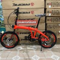 Jual Sepeda Lipat Pacific 2980 Rx 6 8 Kota Bandung Makmurbike88 Tokopedia