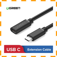 UGREEN Kabel USB 3.1 Type C Extension Cord Male to Female 50cm -