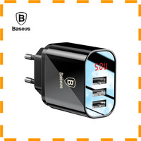 NEW VD Baseus USB Wall Travel Charger 3 Port 3.4A with Indicator -