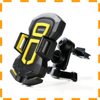 NEW VD Remax Air Vent Smartphone Holder - RM-C14 - Black/Yellow