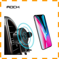 NEW VD Rock Car Holder Qi Wireless Charger - W2 - Black