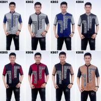 Jual Baju Muslim Koko Pria Model Terbaru Baju Koko Kombinasi Batik Prodo Kb01 Kota Pekalongan Batik Balungan Tokopedia