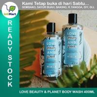 SABUN MANDI VEGAN LOVE BEAUTY AND PLANET BODY WASH PETAL SOFT 400ml