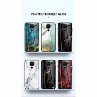 CASE Xiaomi Redmi Note 9 Tempered Glass Soft Silicone Frame Hard
