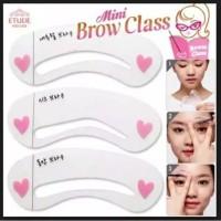 cetakan alis isi 3 pcs 3 model berbeda MINI BROW CLASS thumbnail