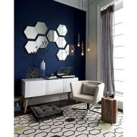 promo stiker kaca dekorasi cermin mirror wallpaper