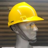 helm safety helm proyek 1 set dgn 6 warna pilihan mengkilap dan cerah