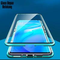 Double Glass case Magnet VIVO V19 Magnetic Front+Back