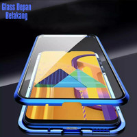 Double Glass case Magnet SAMSUNG Galaxy A31 Magnetic Front+Back