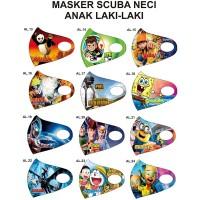 Jual Masker Scuba Anak Motif karakter kartun - Kota ...