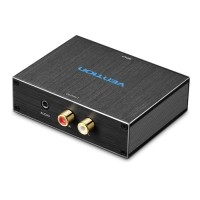 Vention Coaxial Digital Audio Optical SPDIF to Aux Audio 3.5mm RCA