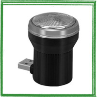 Zuober Alat Cukur Jenggot Travel Portable USB Mini Shaver Trimmer -
