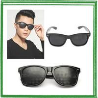 YOOSKE Kacamata Terapi Anti Myopia Pinhole Glasses - D11301 - Black