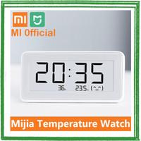 Xiaomi Mijia E-Ink Jam Meja Thermostat Thermometer Hygrometer HOT SAL