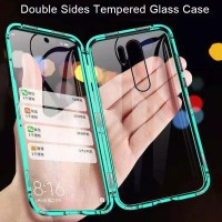 Double Glass case Magnet Xiaomi Redmi 9 Magnetic Front+Back