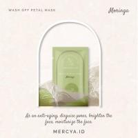 Wash Off Petals Mask Moringa 20gr by @mercya.id