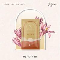 Blackhead Mask Saffron 15gr by@mercya.id