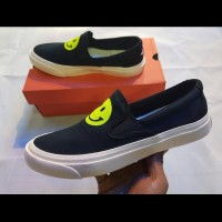VANS SLIP ON X SMILE BW PREMIUM ORIGINAL 40-44
