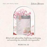 Peel Off Mask Sakura Blossom 20gr by @mercya.id