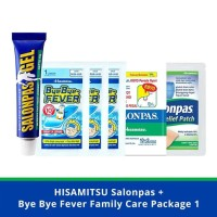 Salonpas Bye Bye Fever Family Care Package 1