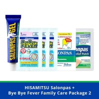 Salonpas Bye Bye Fever Family Care Package 2