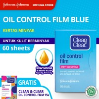 Clean & Clear Oil Control Film 60 Sheets (Free Oil Control Floral) thumbnail