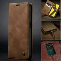 Xiaomi Redmi Note 9 Flip Case Caseme Dompet hp kulit lipat restro