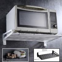 Jual Microwave Oven Shelf Rack Bracket Wall Mounted Kitchen Holder Bracket Jakarta Barat Fungkystore Tokopedia