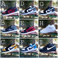 SNEAKERS PRIA NIKE JORDAN LOW GRADE ORIGINAL