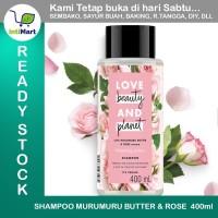 SHAMPOO VEGAN LOVE BEAUTY AND PLANET MURUMURU BUTTER & ROSE 400ml