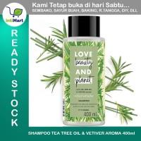 SHAMPOO VEGAN LOVE BEAUTY AND PLANET TEA TREE OIL & VETIFER 400ml