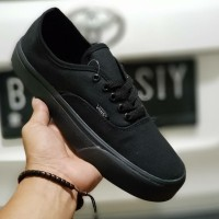 VANS AUTHENTIC FULL BLACK UNISEX 36-43