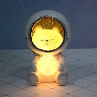 Jual Cat Led Night Light Astronaut Moon Lamp Decor Bedroom Baby Room Kota Tangerang 360 Blackstore Tokopedia
