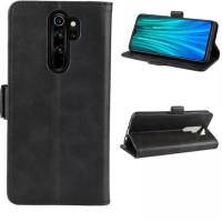 Xiaomi Redmi 9 2020 Flip Case Leather Dompet hp kulit lipat restro