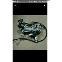 Throttle body vario 125 old Original Komplit selang bensin assy