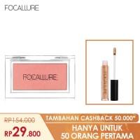 FOCALLURE Bundle Blush On dan Lipstik Glitter - Bundle 1 thumbnail