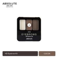 Absolute New York HD Eyebrow Kit 6 Shades Color AEBK - Auburn thumbnail