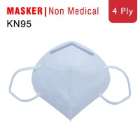KN95 - MASKER 4PLY MASKER SURGICAL MASK REAL PICTURE thumbnail