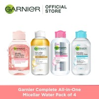 Garnier Complete All-in-One Micellar Water Pack of 4 thumbnail