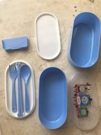 Thomas and Friends - Perlengkapan Makan + Kotak Bekal