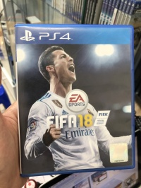USED PS4 Game - Fifa 18 ( Reg 3 Asia / English )