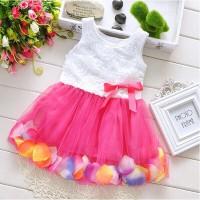 Dress tutu bayi dan anak perempuan / dress pesta dan santai 0-3 thn
