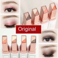 NOVO Two Tone Gradient Velvet Korean Style Eye Makeup Original