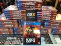 PS4 Game - Red Dead Redemption 2 Reg 3 Asia / English