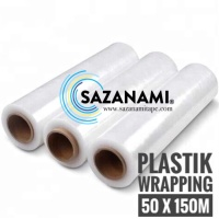 STRETCH FILM 50CM X 150M PLASTIK WRAPPING