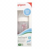 PIGEON Botol Susu Bayi PP WIDE NECK 240 ml Peristaltic Plus Nipple