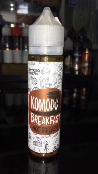 promo liquid vapor Komodo Breakfast Not So Lazy 6mg&3mg 60ml