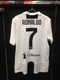 Jersey Juventus home 2018/19 with nameset player(RONALDO #7)grade ori
